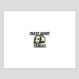 Crazy About Pandas Small Poster