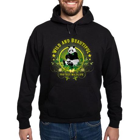 Wild Panda Hoodie (dark)