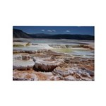 Hot Springs Rectangle Magnet (100 pack)