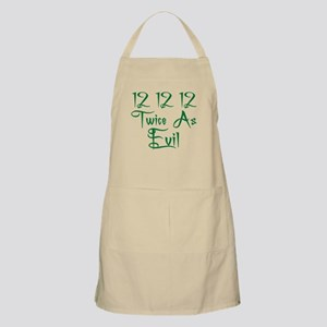 12 12 12 Twice as Evil BBQ Apron