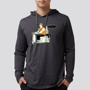 Scooter Guy and Gal Long Sleeve T-Shirt