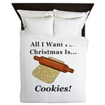 Christmas Cookies Queen Duvet