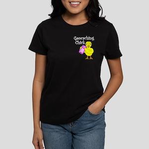 Geocaching Chick Women's Dark T-Shirt