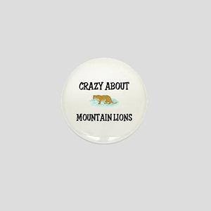 Crazy About Mountain Lions Mini Button