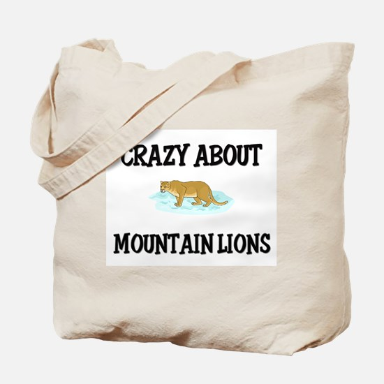 Crazy About Mountain Lions Tote Bag