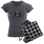 Route 69 Women's Charcoal Pajamas