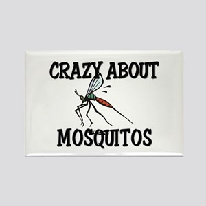 Crazy About Mosquitos Rectangle Magnet