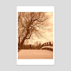 Concord Bridge Mini Poster Print