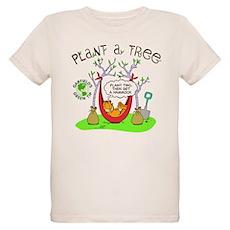 Plant A Tree Organic Kids T-Shirt