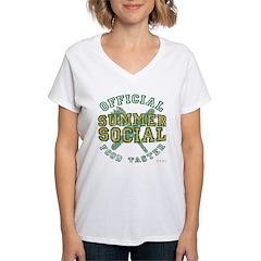OFFICIAL SUMMER SOCIAL FOOD T Shirt