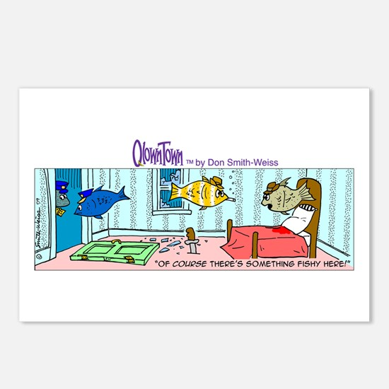 Cute Fishy Postcards (Package of 8)