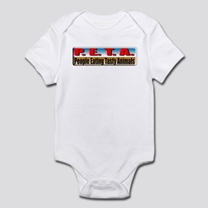 P.E.T.A. Infant Bodysuit