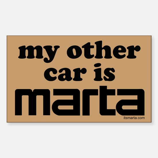 MARTA Rectangle Decal