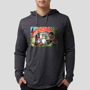 Gnome Outside his Toadstool Cottage Long Sleeve T-
