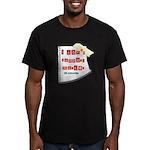 I Dont Support Murder Men's Fitted T-Shirt (dark)