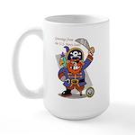 Pirates v. Seals Large Mug