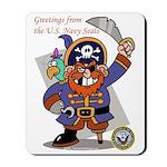 Pirates v. Seals Mousepad