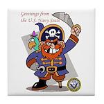 Pirates v. Seals Tile Coaster