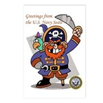 Pirates v. Seals Postcards (Package of 8)