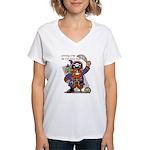 Pirates v. Seals Women's V-Neck T-Shirt