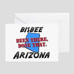 bisbee arizona - been there, done that Greeting Ca