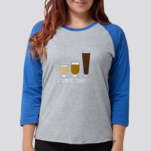 I Love Crafts Long Sleeve T-Shirt