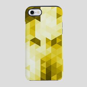 Modern Yellow Geometric Patter iPhone 7 Tough Case