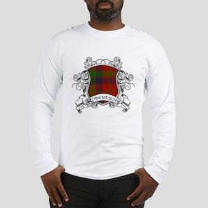 Robertson Tartan Shield Long Sleeve T-Shirt