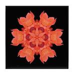 Canna Lily I Tile Coaster