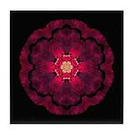 Beach Rose II Tile Coaster