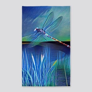 Dragonfly Pond Area Rug