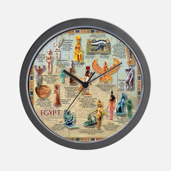 Unique Goddess Wall Clock