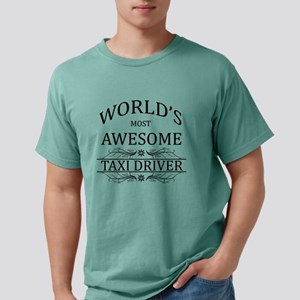 World's Most Awesome Taxi Driver T-Shirt