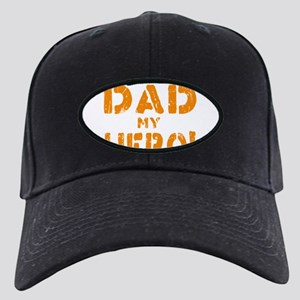 I'm A Proud Dad Black Cap with Patch