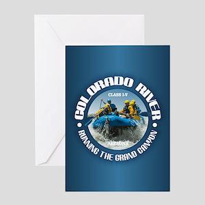 Colorado River (rafting) Greeting Cards