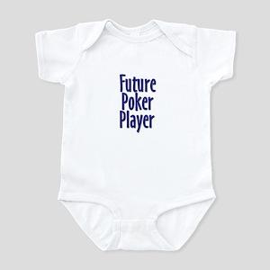 Future Poker Player Infant Creeper