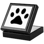 Paw Print Keepsake Box