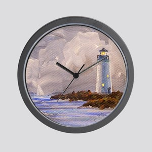 Santa Cruz Lighthouse Wall Clock