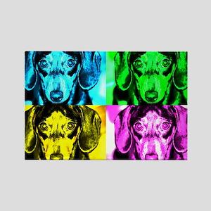 Warhol Rectangle Magnet