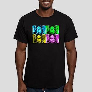 Warhol Men's Fitted T-Shirt (dark)