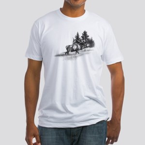 Elk Fitted T-Shirt