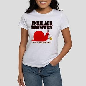 Snail Ale front T (white) T-Shirt