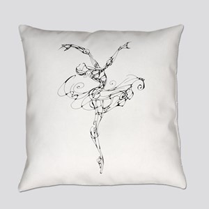 IB Ballerina Arch Everyday Pillow