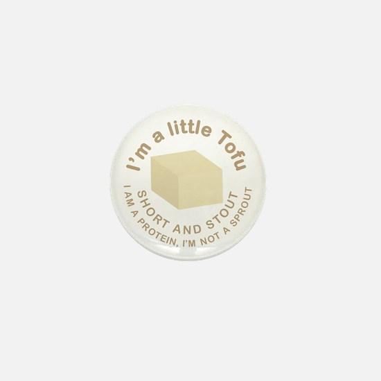 I'm a Little Tofu Mini Button