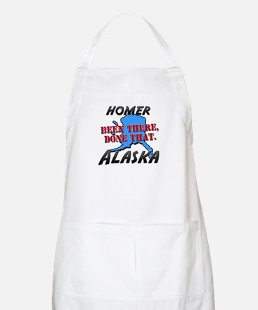 homer alaska - been there, done that BBQ Apron