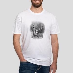 Mule Deer Fitted T-Shirt