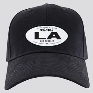 Los Angeles Destination Products Black Cap
