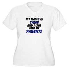 my name is tyree and I live with my parents Women'