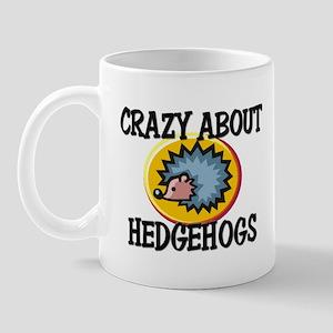 Crazy About Hedgehogs Mug