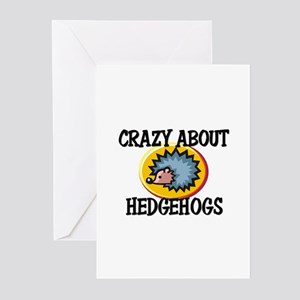 Crazy About Hedgehogs Greeting Cards (Pk of 10)